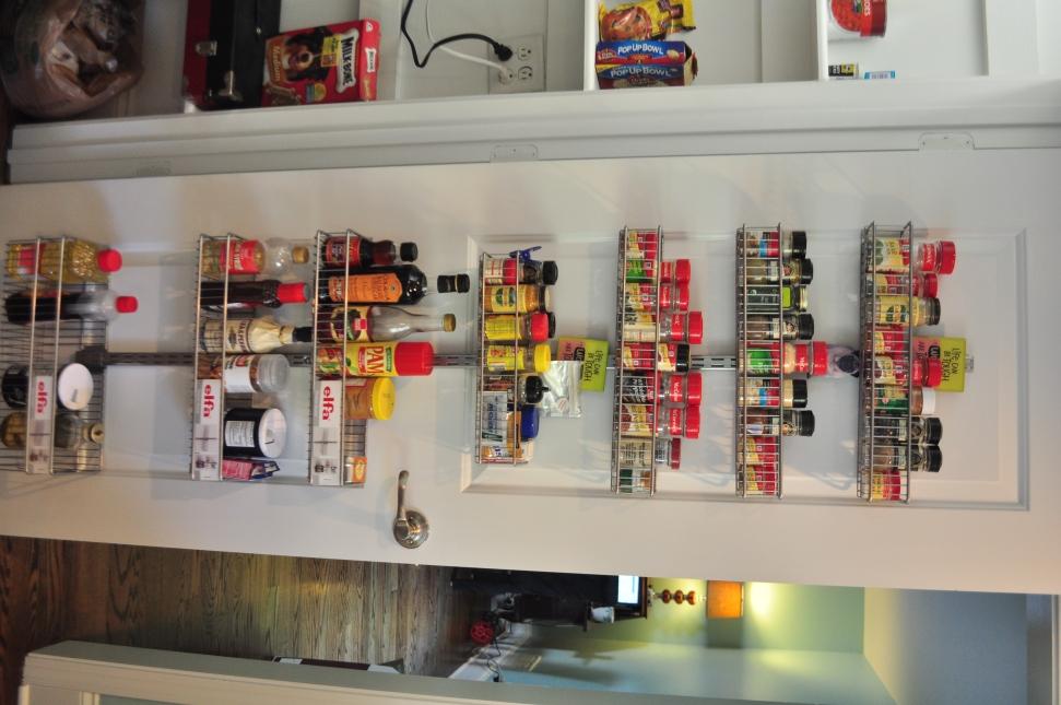 back of door spice rack plans
